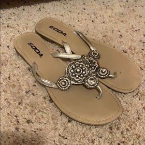 Soda Shoes - Beaded sandal